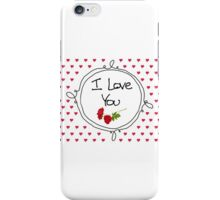 Mother's Day - I love You iPhone Case/Skin