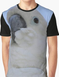 Ruffled Feathers Of A Blue Eyed Cockatoo Graphic T-Shirt