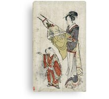 Bows And Arrows - anonymous - c1800 - woodcut Canvas Print