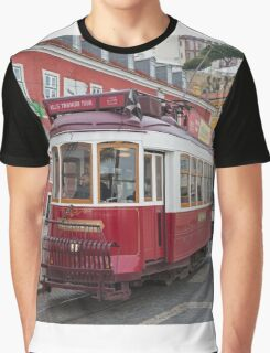 Electric Tram Lisbon Graphic T-Shirt