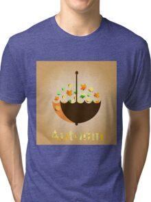 Autumn inspiration Tri-blend T-Shirt