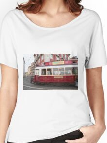 Electric Tram Lisbon Women's Relaxed Fit T-Shirt