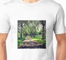 London Summer Park Path Unisex T-Shirt