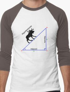 Hypotemoose, Math Humor. Men's Baseball ¾ T-Shirt