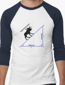 Hypotemoose, Math Humor. Men's Baseball ¾ T-Shirt