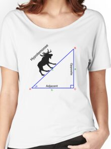 Hypotemoose, Math Humor. Women's Relaxed Fit T-Shirt