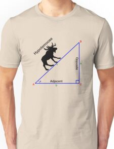 Hypotemoose, Math Humor. Unisex T-Shirt