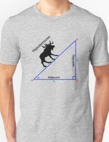 Hypotemoose, Math Humor. Unisex T-Shirt