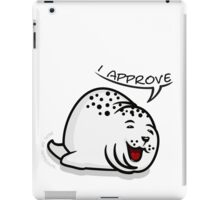 Seal of Approval VRS2 iPad Case/Skin