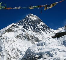 Mount Everest by lanesloo