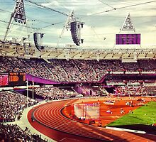Olympic Stadium London by lanesloo