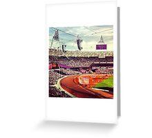 Olympic Stadium London Greeting Card