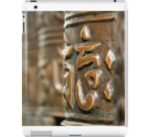 Buddhist Prayer Wheels, Nepal iPad Case/Skin