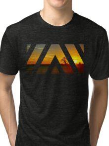 Under a Sunset Sky Tri-blend T-Shirt