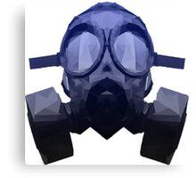 Toxicity Blue Canvas Print