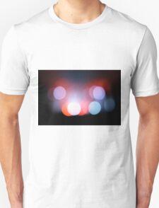 Circle Colour Lights Concert Blur Pattern T-Shirt
