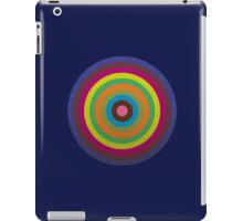 CIRCLE blue green yellow orange red violet  iPad Case/Skin