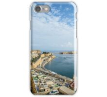 View on Valletta and Grand Harbour,Malta iPhone Case/Skin