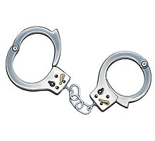 Handcuffs Photographic Print