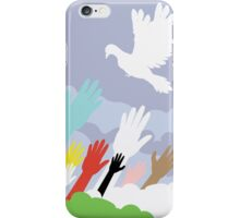 Dove and Hands 2 iPhone Case/Skin