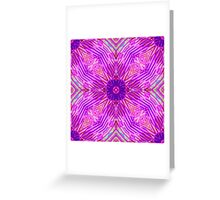 Pink Abstract Greeting Card