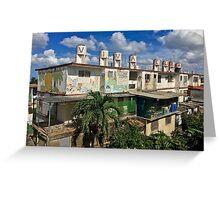 Cuba - Jaimanitas - Viva Cuba Greeting Card