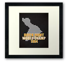 Duck Hunt Gaming Quote Framed Print
