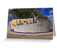 Cuba - Jaimanitas - corner art Greeting Card