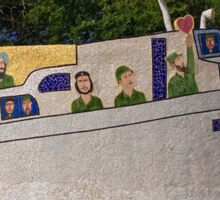 Cuba - Jaimanitas - corner art Sticker