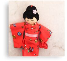 Chinese doll Canvas Print