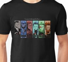 Pokémon - You are challenged by boss... (black version) Unisex T-Shirt