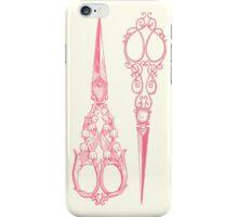 vintage scissors iPhone Case/Skin