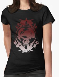 Battle For Third Earth Womens Fitted T-Shirt