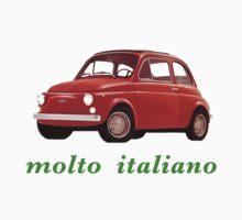 very italian, red car by Federica Cacciavillani