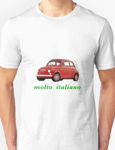 very italian, red car Unisex T-Shirt
