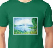View of Lake Constance  Unisex T-Shirt