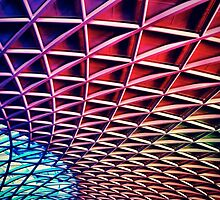 Kings Cross Roof Triangle Structural Pattern by lanesloo