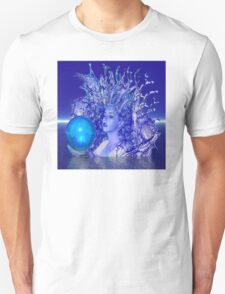 Blue Crystal Unisex T-Shirt