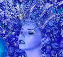 Blue Crystal Sticker
