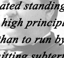 High Principle - Grover Cleveland Sticker