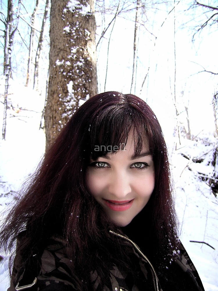 Angel in the snow  by ©The Creative  Minds