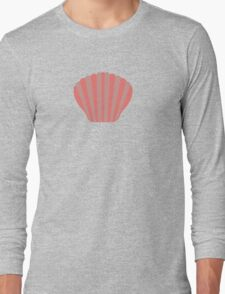 Red Shell Long Sleeve T-Shirt