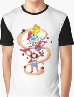 Undertale Spaghetti Party Graphic T-Shirt