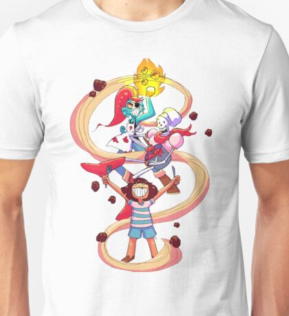 Undertale Spaghetti Party Unisex T-Shirt