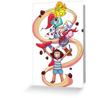 Undertale Spaghetti Party Greeting Card