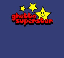 Ghetto Superstar Funny Quote Womens Fitted T-Shirt