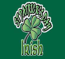 Saint Patrick's Day, Irish, Eire, Ireland, USA, Lucky Clover Unisex T-Shirt