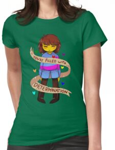 Determination Womens Fitted T-Shirt