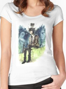 Nico Di Angelo - Son Of Hades Women's Fitted Scoop T-Shirt