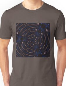 Which Way Is Up Abstract Pattern Unisex T-Shirt